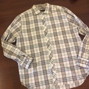 Banana Republic plaid dress shirt